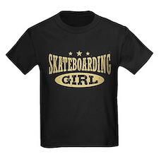 Skateboarding Girl T