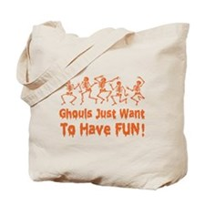 Dancing Ghouls Tote Bag