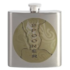 Gold Spooner Flask