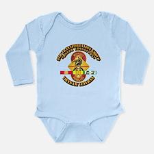 8th Transportation Group Long Sleeve Infant Bodysu