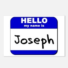 hello my name is joseph  Postcards (Package of 8)