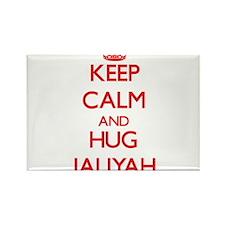 Keep Calm and Hug Jaliyah Magnets