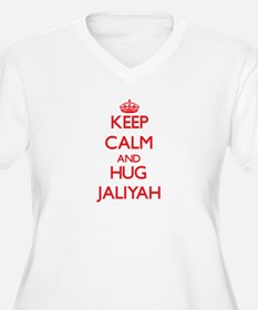 Keep Calm and Hug Jaliyah Plus Size T-Shirt