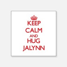 Keep Calm and Hug Jalynn Sticker