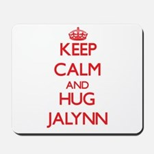 Keep Calm and Hug Jalynn Mousepad
