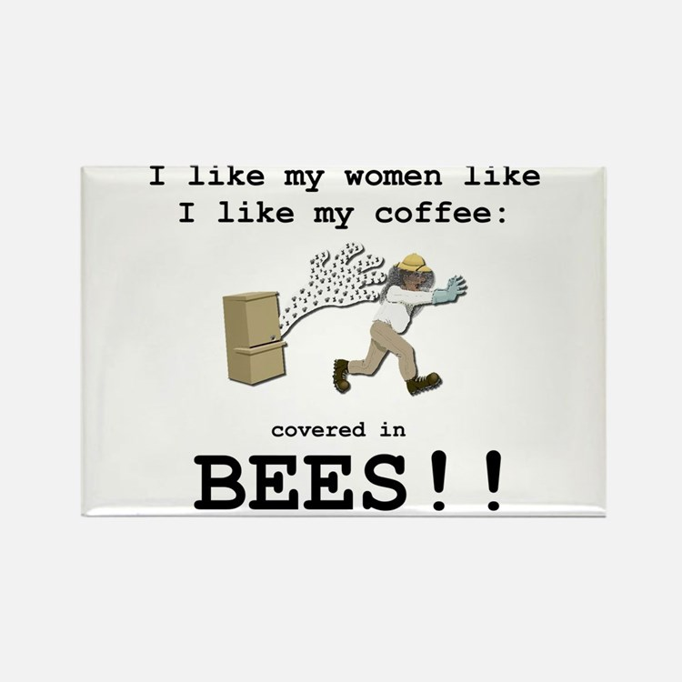 "Eddie Izzard ""Covered in Bees"" Magnet"