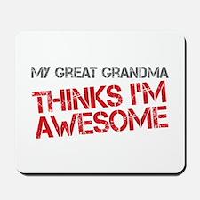 Great Grandma Awesome Mousepad