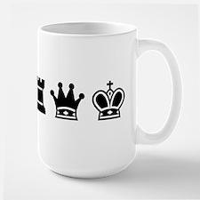Mug - Chess symbols BLACK Mugs