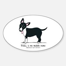 Bull Terrier Name Decal
