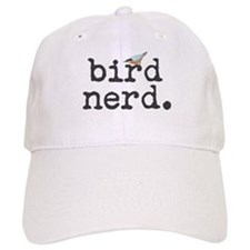 Bird Nerd. Baseball Cap