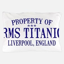 TITANIC PROPERTY.png Pillow Case