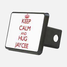 Keep Calm and Hug Jaycee Hitch Cover