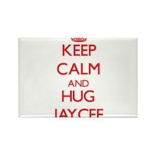 Keep Calm and Hug Jaycee Magnets