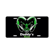 Daddy's Ram Aluminum License Plate