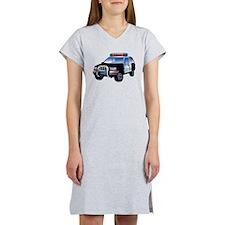 Police Car Women's Nightshirt