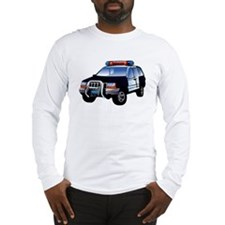 Police Car Long Sleeve T-Shirt
