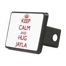 Keep Calm and Hug Jayla Hitch Cover