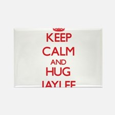 Keep Calm and Hug Jaylee Magnets
