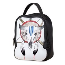 indian buffalo.png Neoprene Lunch Bag