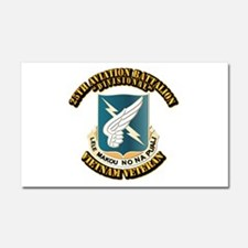 DUI - 25th Aviation Battalion Car Magnet 20 x 12