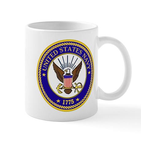US Navy Emblem Mug