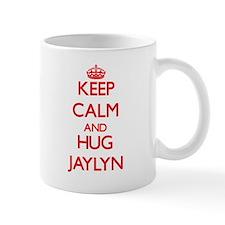 Keep Calm and Hug Jaylyn Mugs