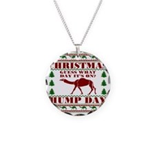 Hump day Guess What Christma Necklace