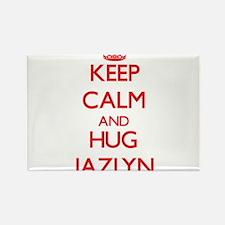 Keep Calm and Hug Jazlyn Magnets