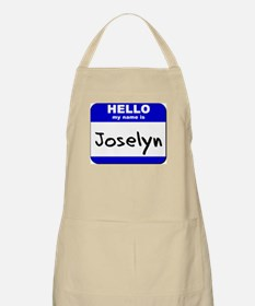 hello my name is joselyn  BBQ Apron