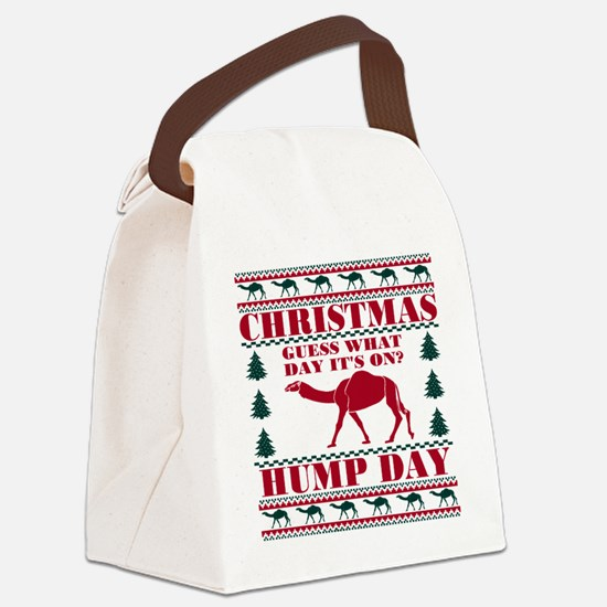 Red Green Hump Day Guess What Chr Canvas Lunch Bag
