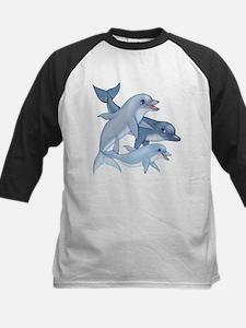 Dolphins-transparent Baseball Jersey