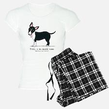Bull Terrier Name Pajamas