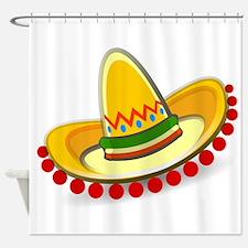 Sombrero Shower Curtain