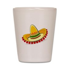 Sombrero Shot Glass