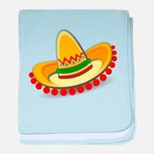 Sombrero baby blanket