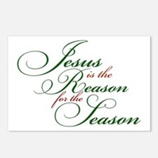 Jesus is the Reason Postcards (Package of 8)