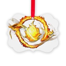 Dauntless Divergent Picture Ornament