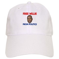 Free Willie From Politics Baseball Cap