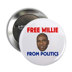 Free Willie From Politics Button