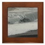 Ocean Wave Framed Tile