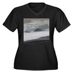 Ocean Wave Plus Size T-Shirt
