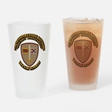 Army - 5th Transportation Battalion Drinking Glass