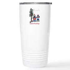 Santa Bears Travel Mug