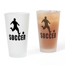 soccer Drinking Glass