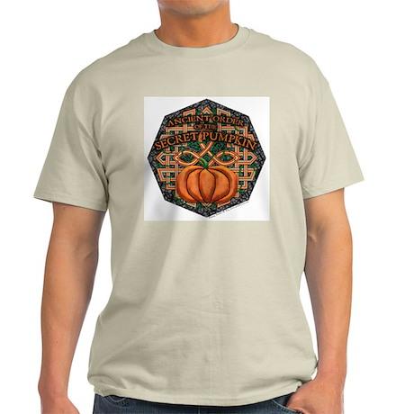 Secret Pumpkin Ash Grey T-Shirt