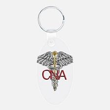 CNA Medical Symbol Keychains