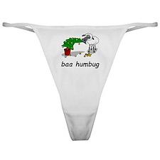 baa humbug Classic Thong