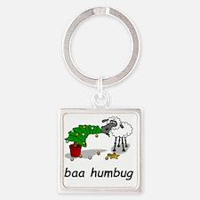 baa humbug Square Keychain