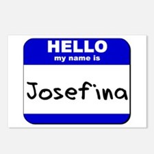 hello my name is josefina  Postcards (Package of 8
