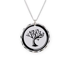 Amity Divergent Necklace Circle Charm